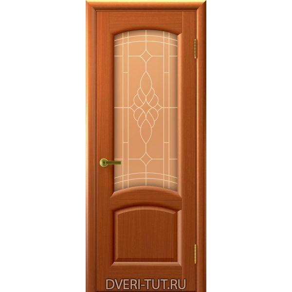 Межкомнатные двери шпон анегри темный лак
